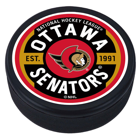 Ottawa Senators Gear Textured Puck