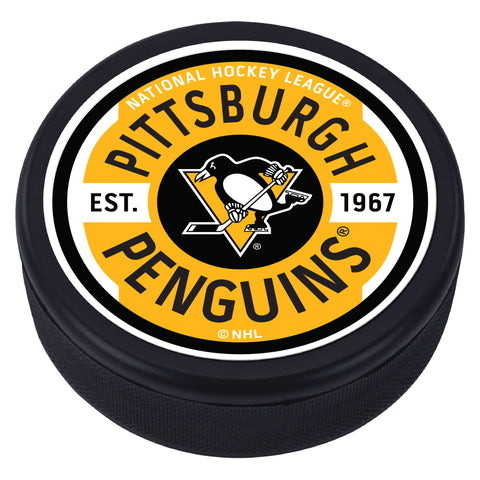 Pittsburgh Penguins Gear Textured Puck