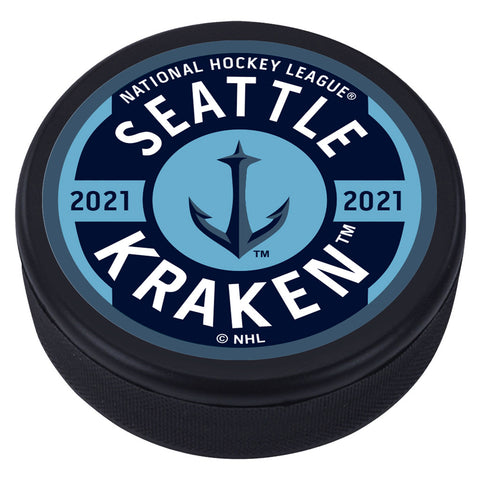 Seattle Kraken Gear Puck - Anchor Design