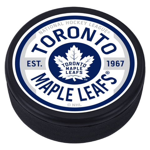 Toronto Maple Leafs Gear Textured Puck