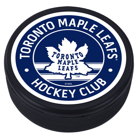 Toronto Maple Leafs Vintage Textured Puck