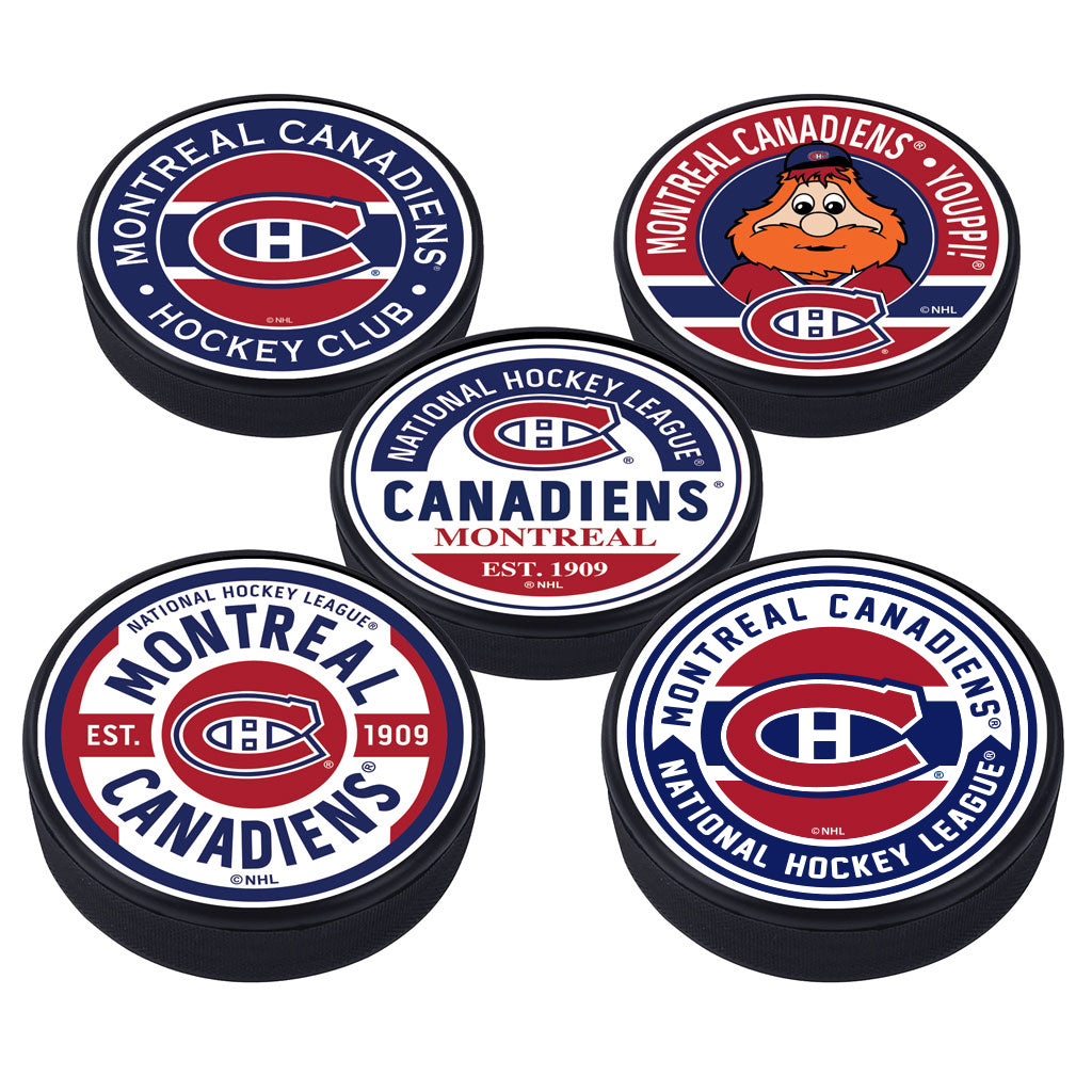Montreal Canadiens 5 Puck Pack