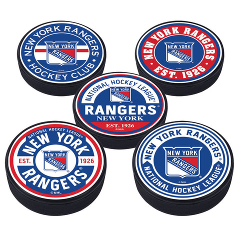 New York Rangers 5 Puck Pack