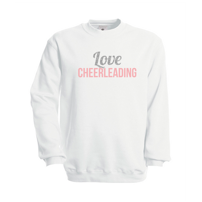 B&C Love Cheerleading sweatshirt