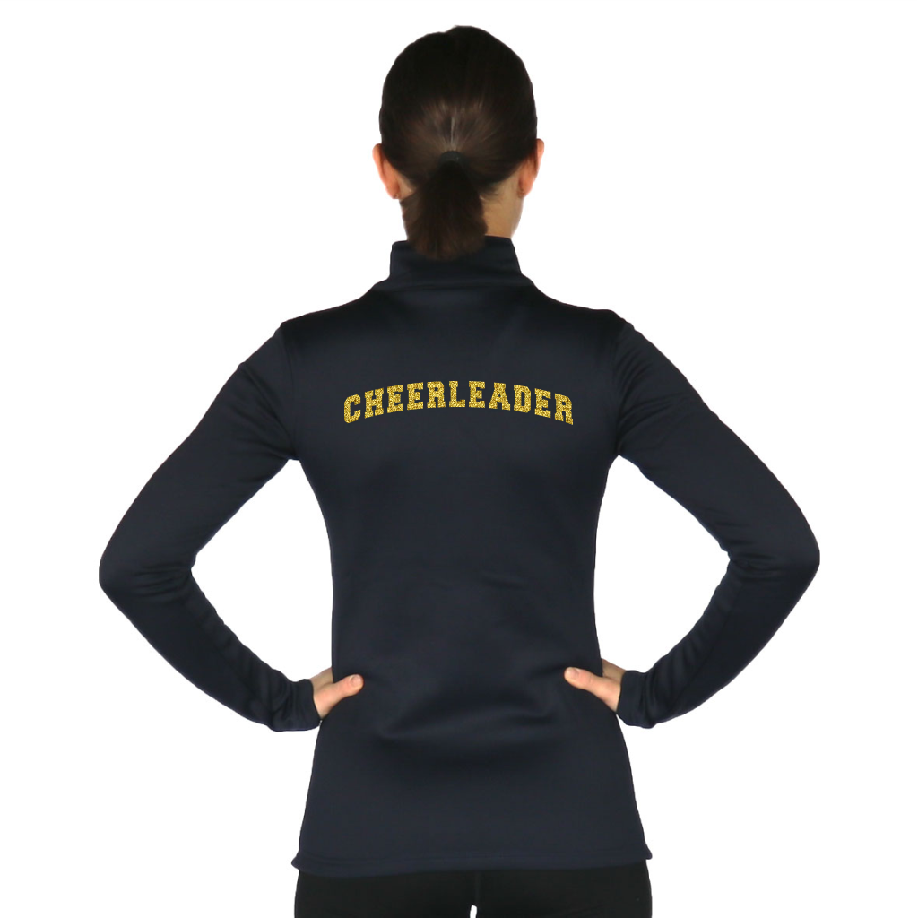 Skillz Gear Invincible jacket with Cheerleader bent print