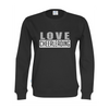 Cottover LOVE CHEERLEADING sweatshirt (organic)