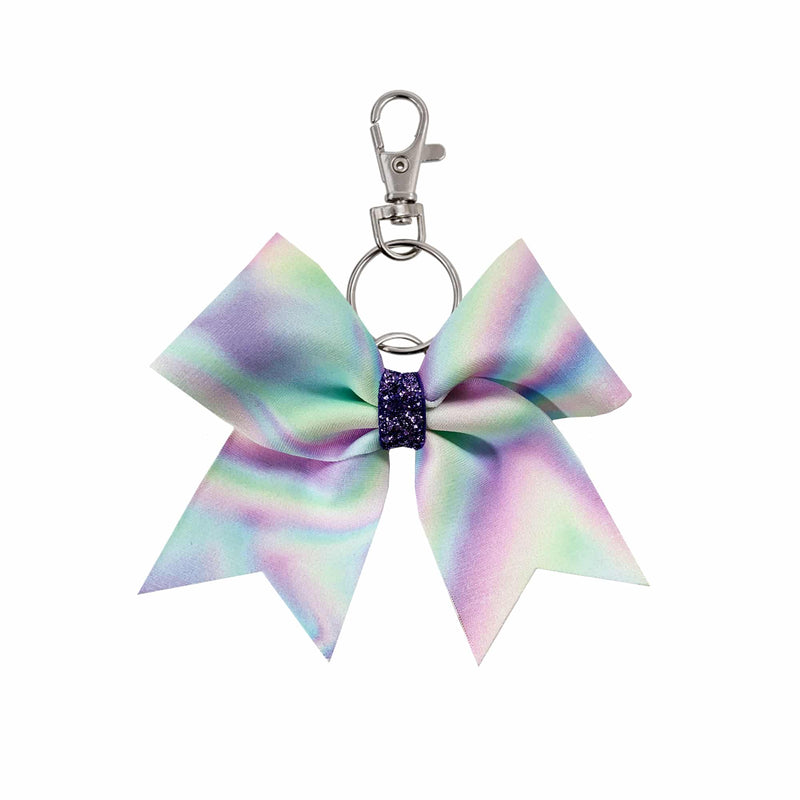 Enchanted Pastel hairbow keyring