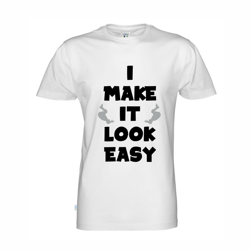 Cottover I make it look easy t-shirt (organic)