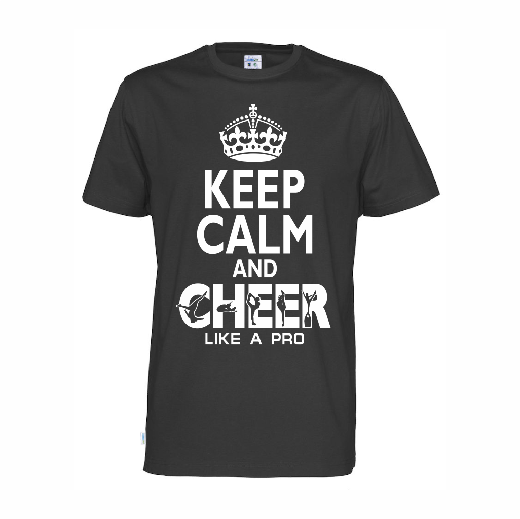 Cottover Keep calm t-shirt (organic)