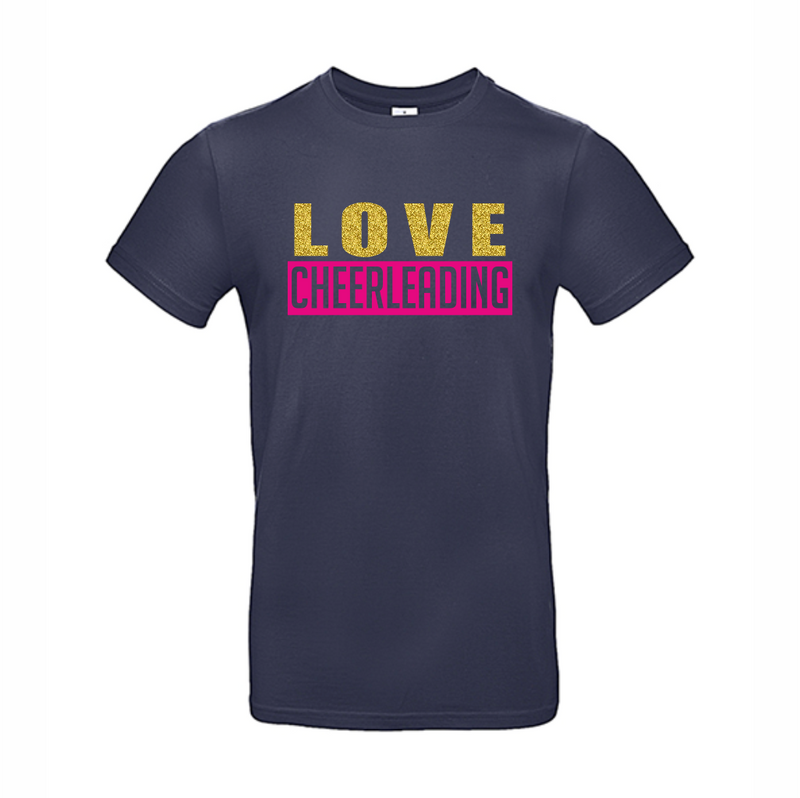 Love Cheerleading t-shirt