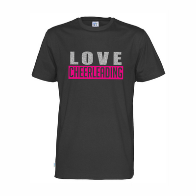 Cottover LOVE CHEERLEADING t-shirt (organic)