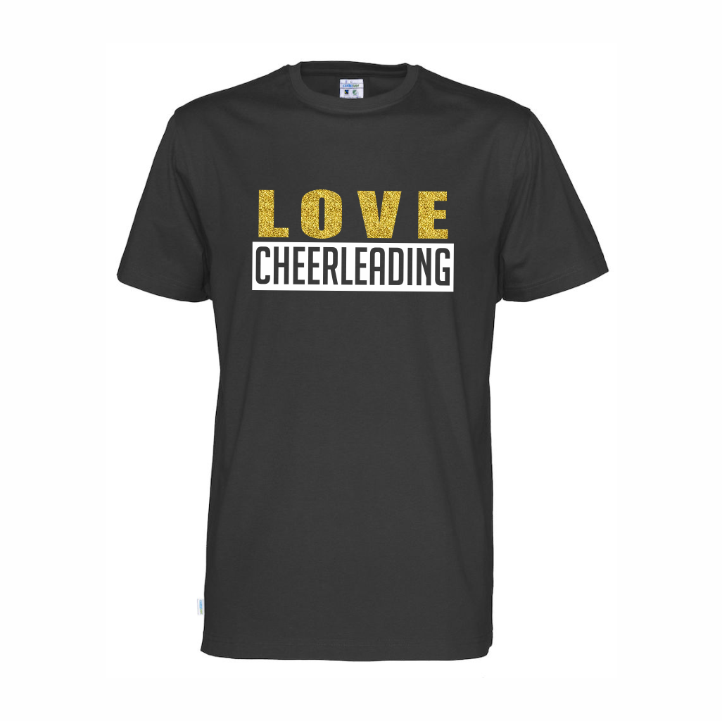 Cottover Love Cheerleading t-shirt (ekologisk)