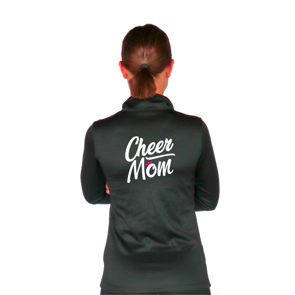 Skillz Gear Fearless jacket with Cheer Mom print
