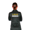 Skillz Gear Fearless jacket with LOVE CHEERLEADING print