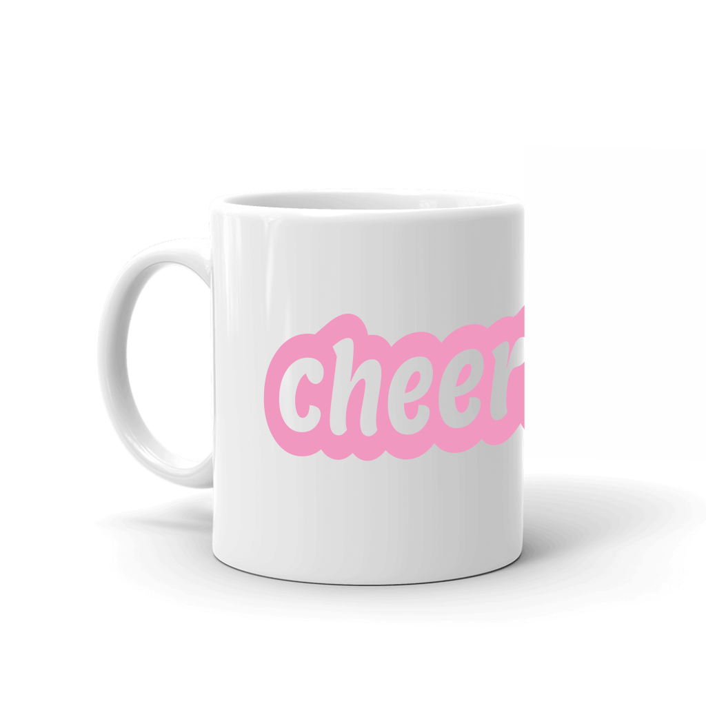 Cheerleader mug