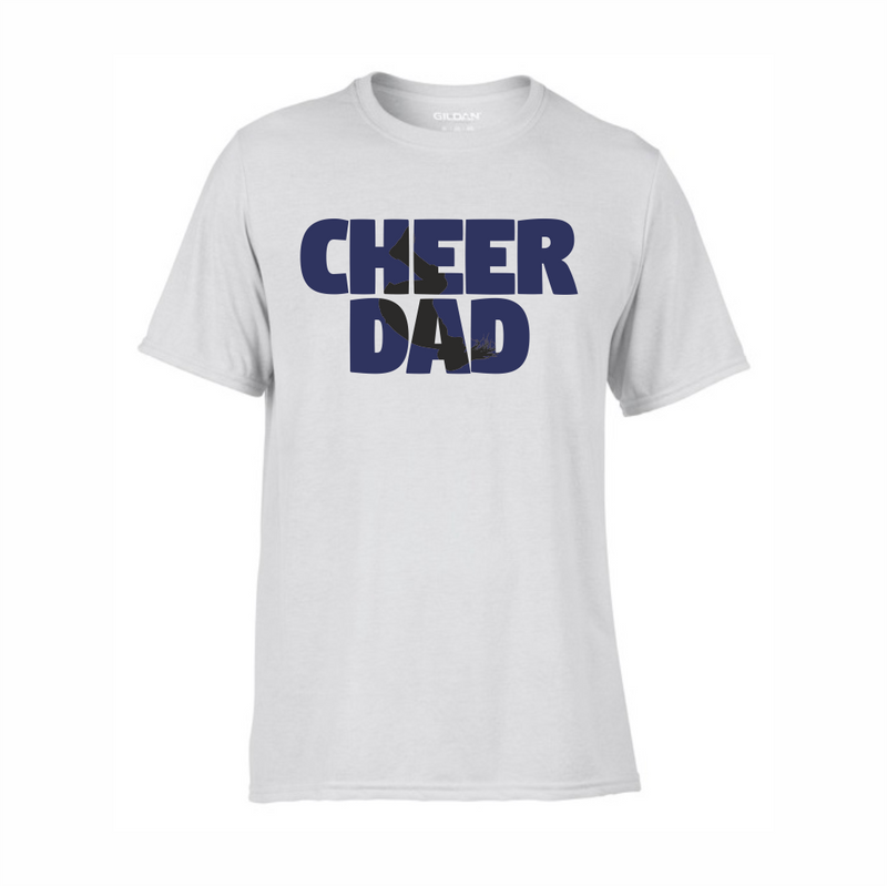 Cheer Dad technical t-shirt