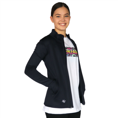 Skillz Gear Invincible jacket with Cheer Mom print