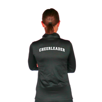 Skillz Gear Fearless jacket with Cheerleader bent print