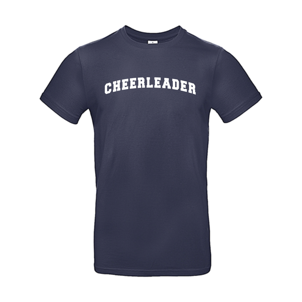 Cheerleader bent t-shirt