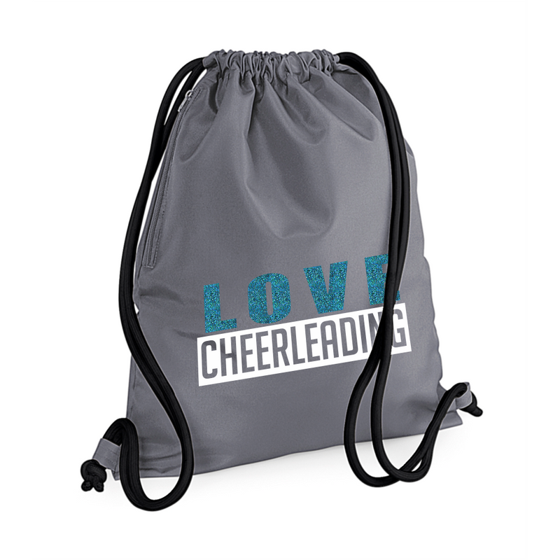 LOVE CHEERLEADING gymsack