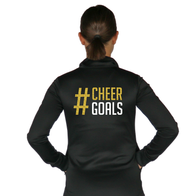 Skillz Gear Fearless jacket with Cheer Goals print
