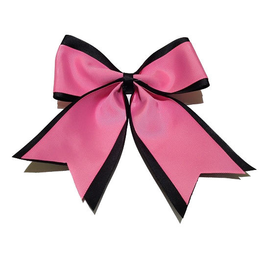 Two-colored hair bow
