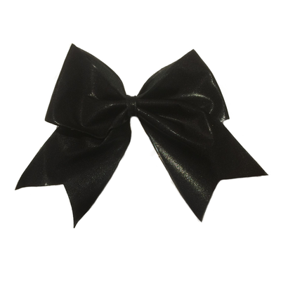 Metallic hair bow