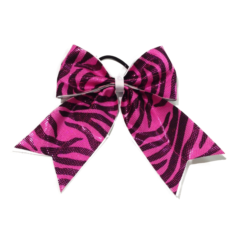 Zebra hair bow
