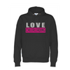 Cottover LOVE CHEERLEADING hoodie (organic)