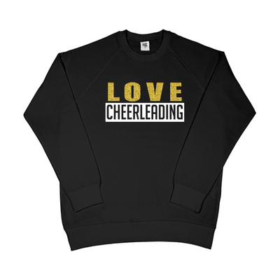 SG LOVE CHEERLEADING sweatshirt