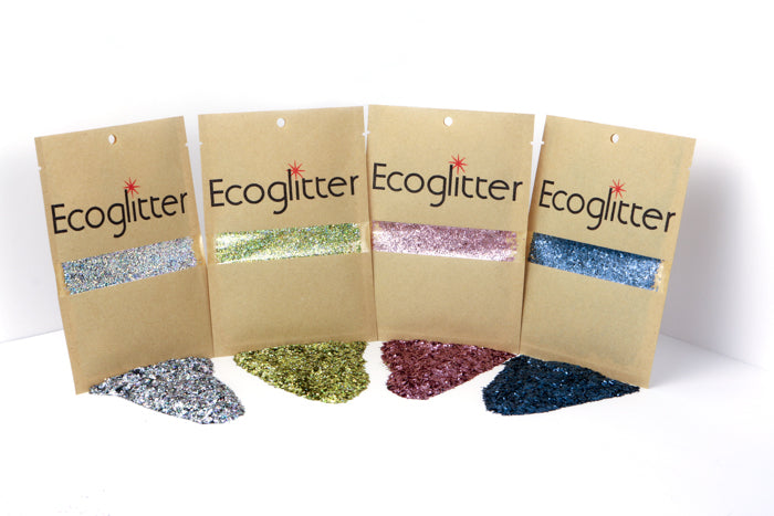 Biodegradable Glitter four pack