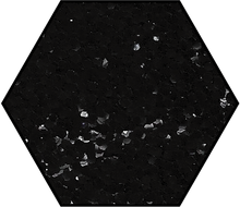 Load image into Gallery viewer, Obsidian Black Medium Cut Ecoglitter