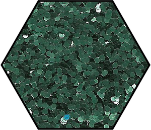 Prairie Green Medium Cut Ecoglitter