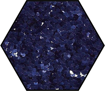 Purple Indigo Medium Cut Ecoglitter