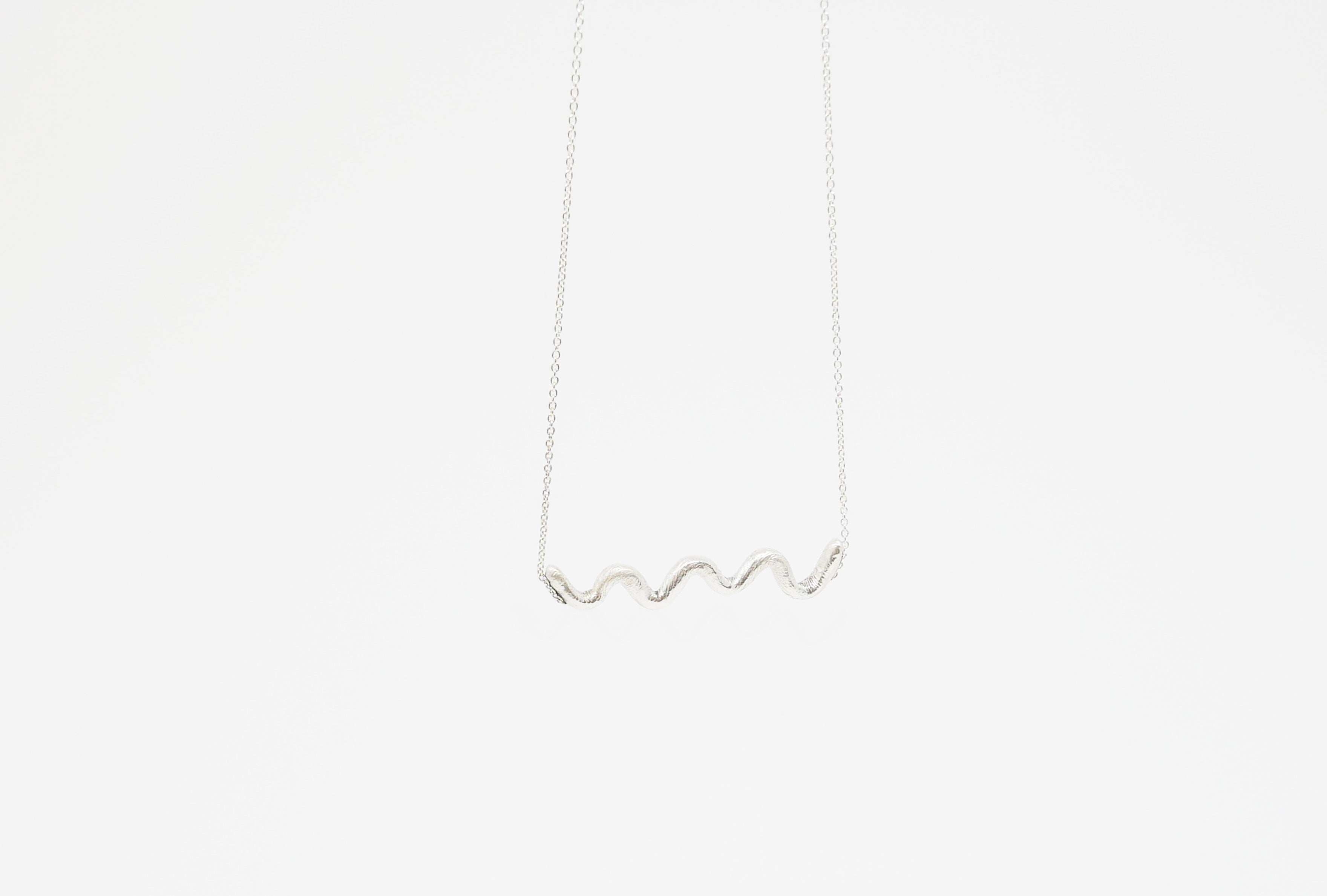 Collier Nouvelle Vague en argent