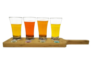 Fine Living - Beer Tasting Set with Chalkboard