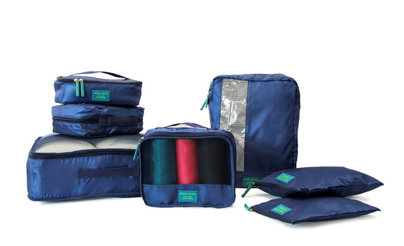 Medoodi 7pc Travel Organiser Set