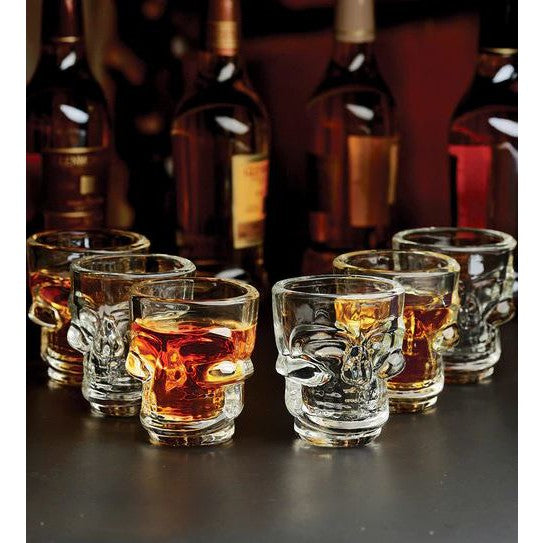 Skull Shot Glasses - Set of 6