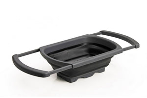Collapsible Over-Sink Sieve