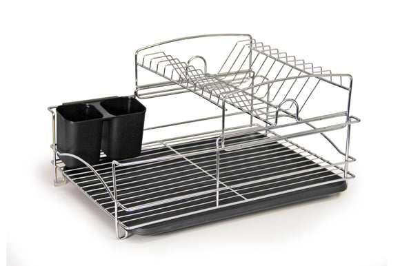 Fine Living Balcony Dish Rack - Black