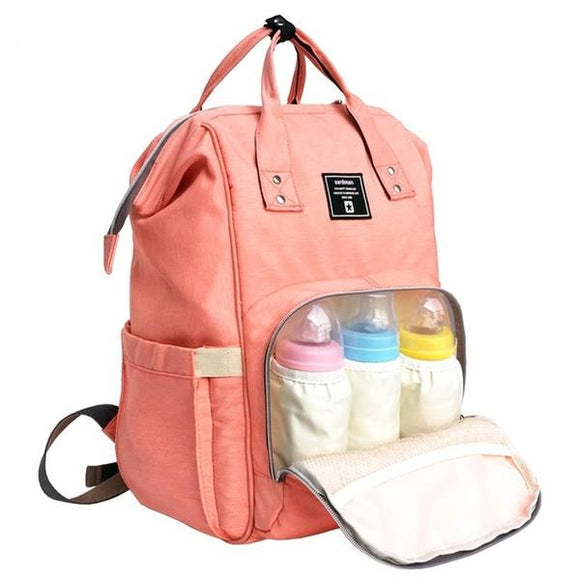 Water-proof Multi-Function Nappy Backpack