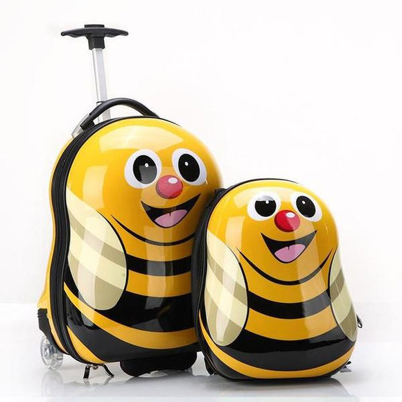 Kids ABS Luggage Set -Buzzy Bees
