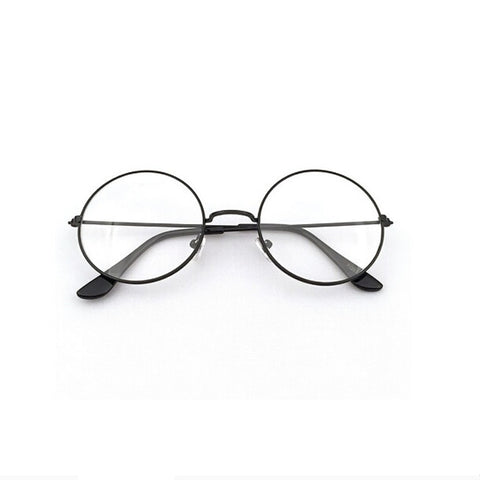 Women Men Retro Round Metal Frame - Recon Fashion