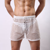 Summer 1PCS Transparent Mesh Shorts - Recon Fashion