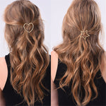 Metal Ponytail Holder with Star/Pentagramme - Recon Fashion