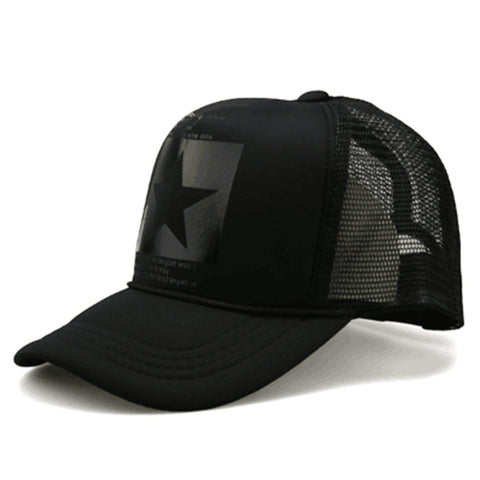 Fashion pointed Star Brand Baseball Cap - Recon Fashion