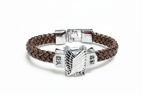 Attack on Titan Shingeki No Kyojin Cosplay Costume Bracelet Hand Strap - Recon Fashion