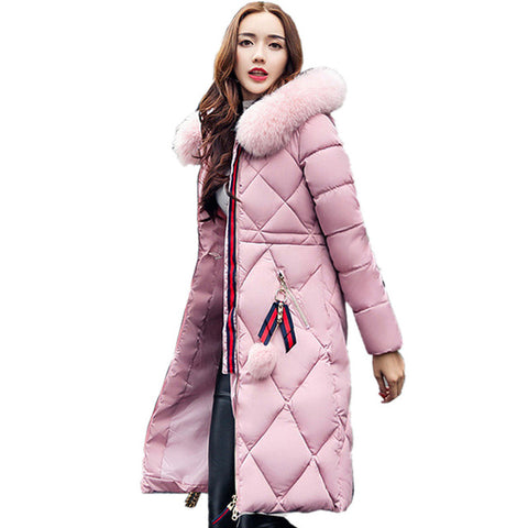 winter coat thickened parka women - Recon Fashion