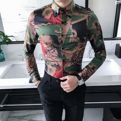 High Quality Korean Shirt Men - Recon Fashion