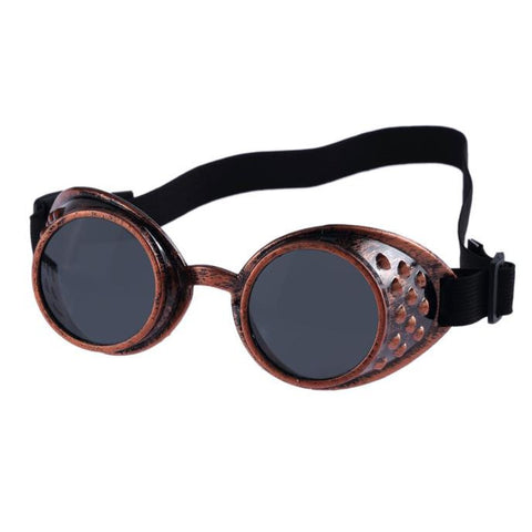 Vintage Style Steampunk Goggles Welding Punk Glasses Cosplay - Recon Fashion